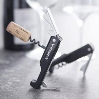 Proptrækker med foliekniv