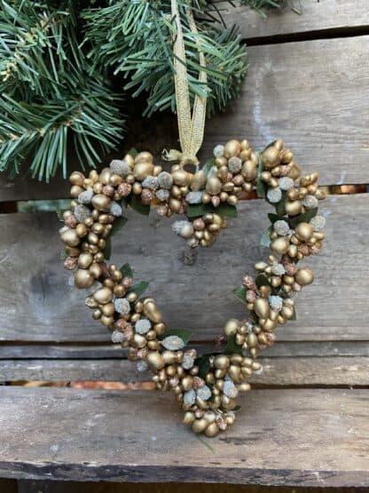 Hjertekrans julepynt Drømme shop