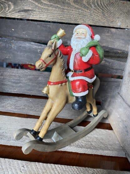 Julepynt julemand gynge hest Drømme Shop