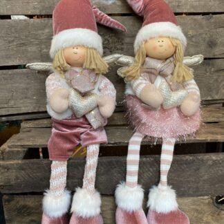 Julepynt nisser nisseengel Drømme shop