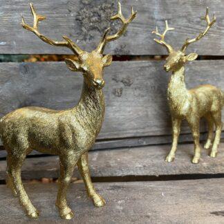 Guld rensdyr Julepynt Drømme shop